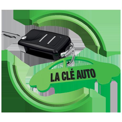 Logo de La Clé Auto avec une télécommande